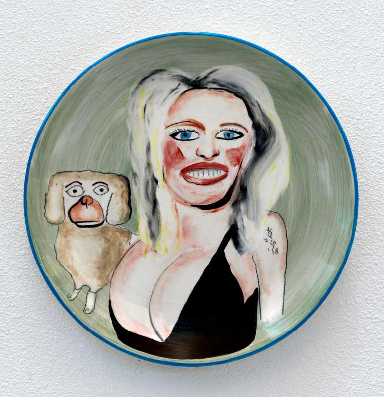 Joost van den Toorn, Pamela Anderson en Jojo, 2018