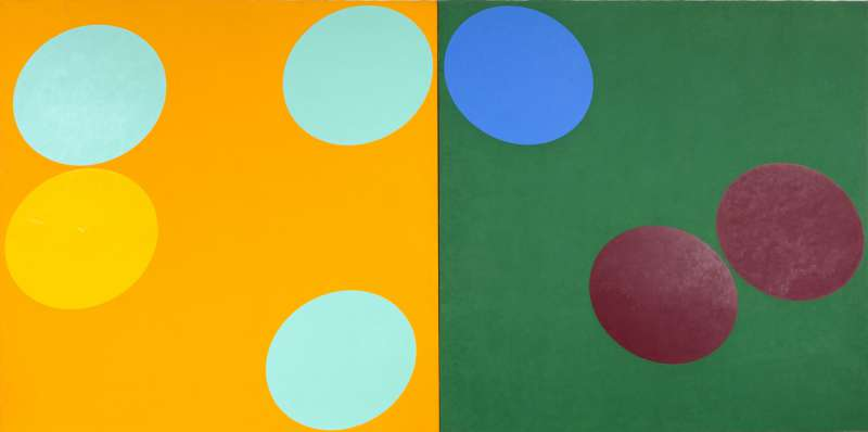 Double Matrix Orange-Green, 1967