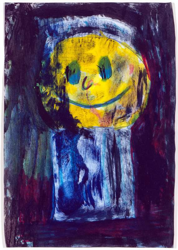 The moon in a trash can, 2011,