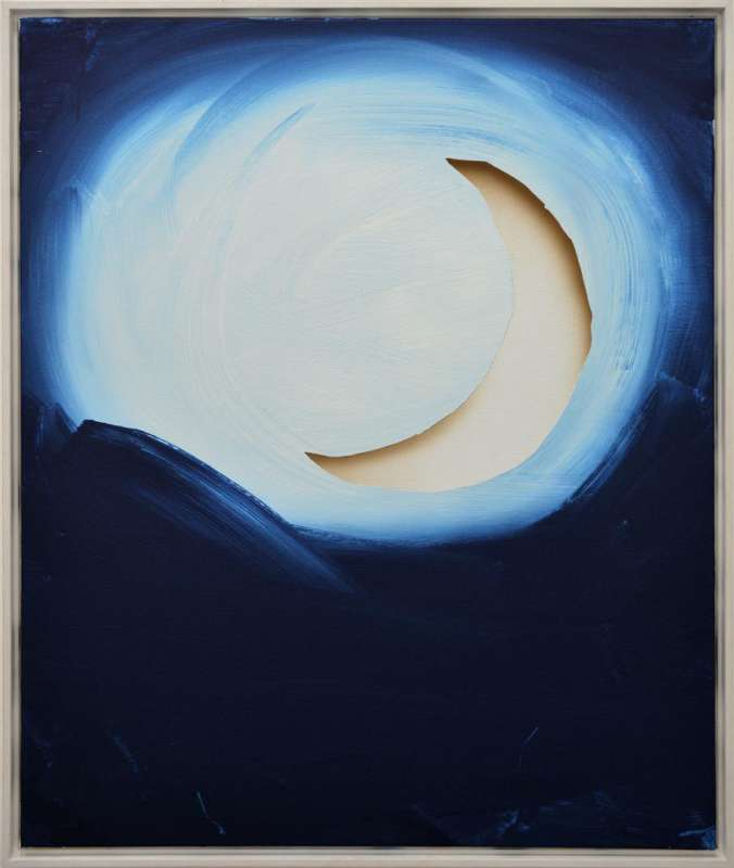 Lieven Hendriks, untitled (blue moon), 2012