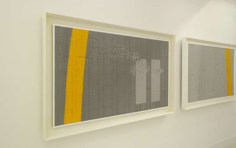 Abdulnasser Gharem, Pause (diptych), 2011