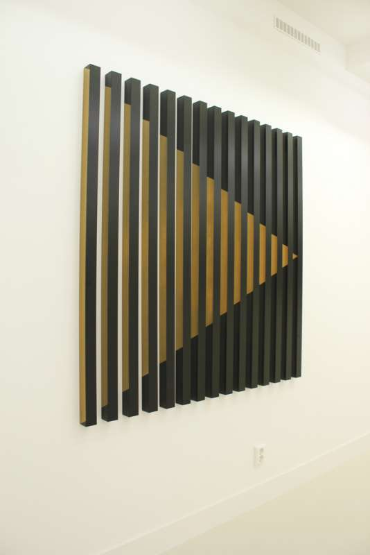 Rana Begum, #189 (black with golden arrow), 2009