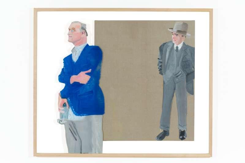 Dubbelportret George Herriman en Willem Baars, 2017