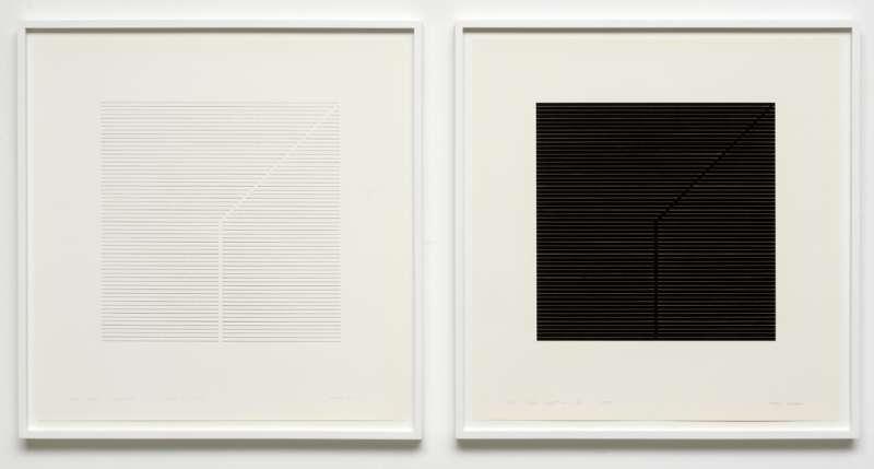 Frans Mossou, Licht- Donkerprent no. 16, 1972