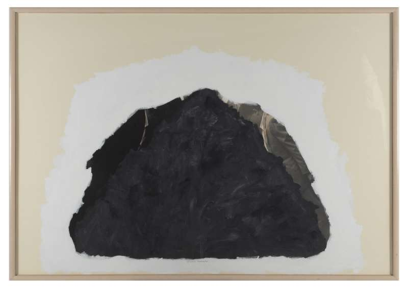 Untitled (Triangle Mountain push), 1981