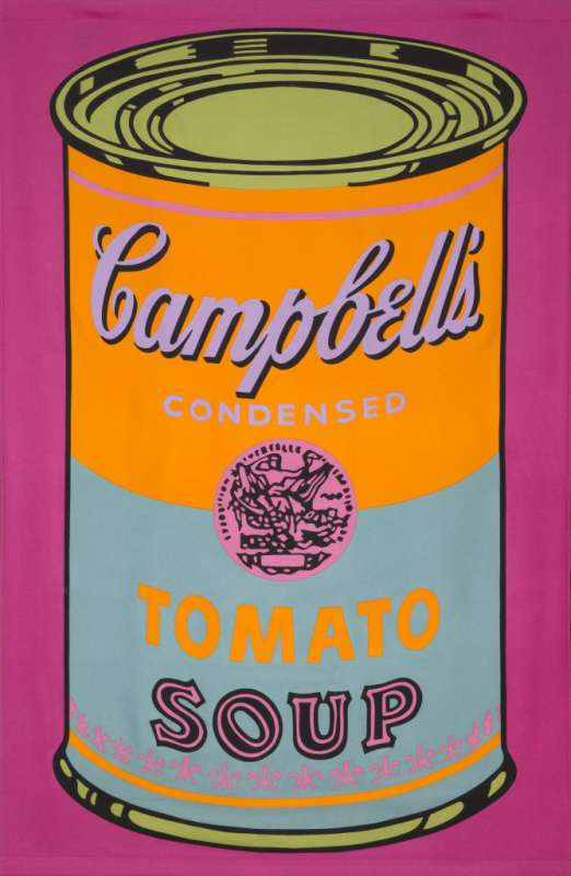 Campbell's Tomato Soup Banner, 1965