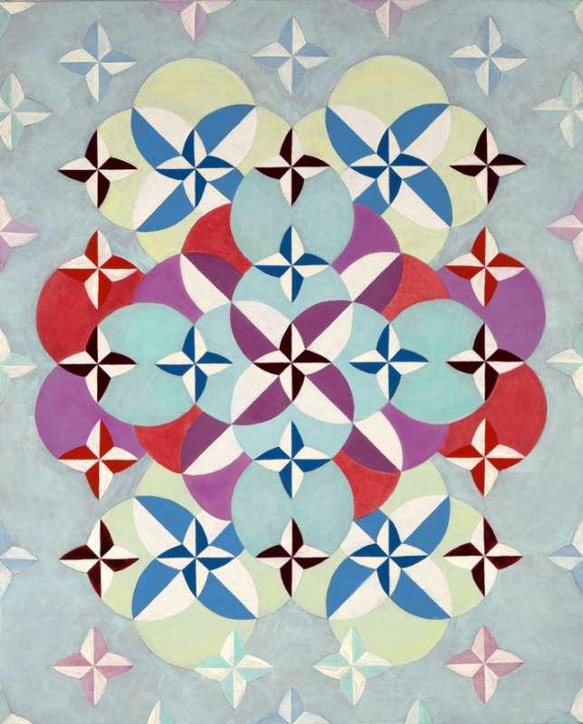 Rob Birza, Shifting Circles Nr II, 2015
