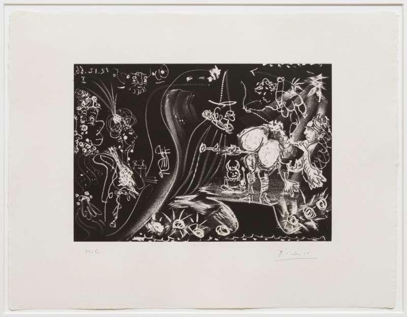 Pablo Picasso, Le Cocu Magnefique, 1966 (published 1968)