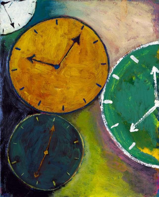 untitled(clock), 2011