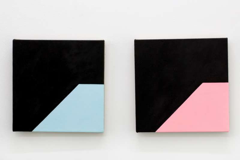 Midnight Pool Baby Pink and Baby Blue, 2014