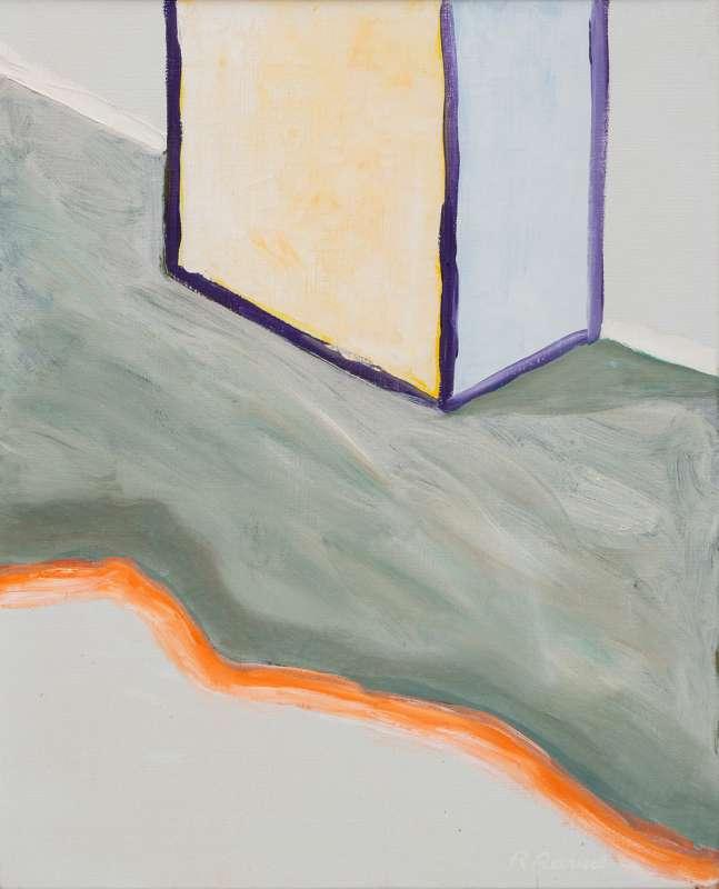 Roger Raveel, Naakt in een Kamer, 1988
