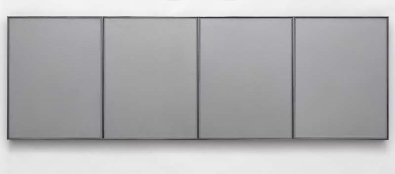 metallic colors, 4 panels, 1971