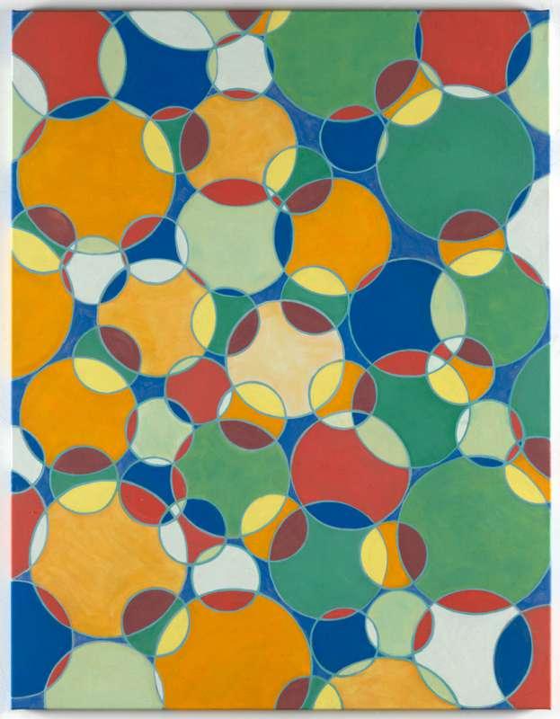 Floating Circles X, 2018