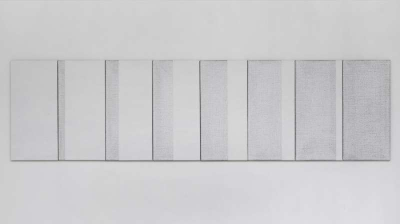 Ido Vunderink | Seven in Eight # 2, white, 2018