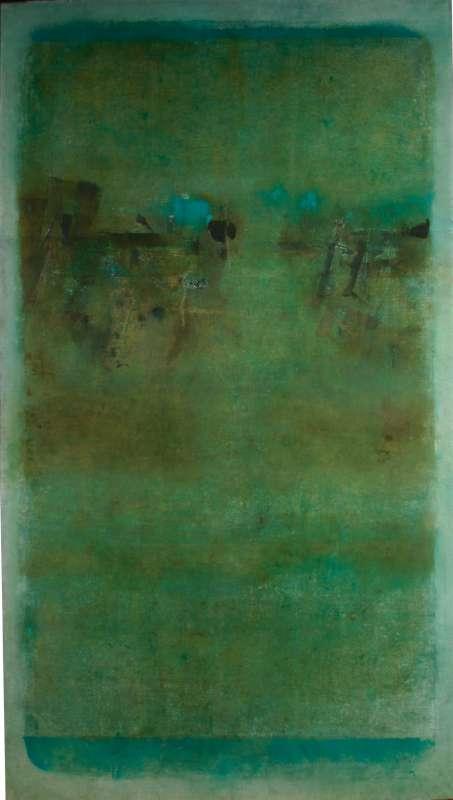 Vasudeo S. Gaitonde, untitled, 1968